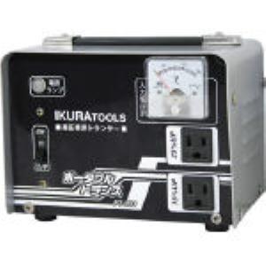 【あす楽対応】育良 [PT-20U] ポータブルトランス(昇圧器) PT20U 288-4038