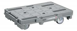【個人宅配送不可】サカエ(SAKAE) [SCR-800S] 「直送」【代引不可・他メーカー同梱不可】「車上渡し」 樹脂台車(スタッキング・連結仕様) SCR800S