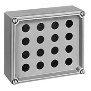 日東工業 [CSH-1] コントロールステーションボックス(穴加工済ボックス、鉄製基板なし) CSH1