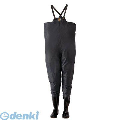【あす楽対応】ロゴス 10068250 クレモナ水産 胴付き長靴 鉄紺 25.0cm【送料無料】