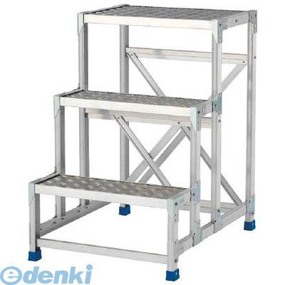 【あす楽対応】【個数:1個】アルインコ[CSBC266S] 作業台(天板縞板タイプ)2段