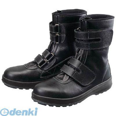 【あす楽対応】シモン[WS3825.5] 安全靴 長編上靴 マジック WS38黒 25.5cm【送料無料】