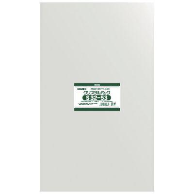 【あす楽対応】HEIKO[6748800] 【10個入】 OPP袋 テープなし クリスタルパック S32-536748800S3253