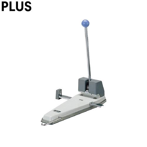プラス/強力パンチ・2穴(No200・30-909) 穴あけ枚数約156枚 4穴ガイド対応 2穴 替刃式 4穴にも対応できるガイド機能付き