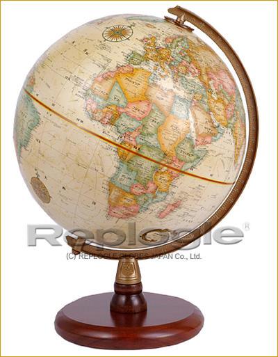 リプルーグル地球儀 クレイシー型(行政図)【smtb-KD】