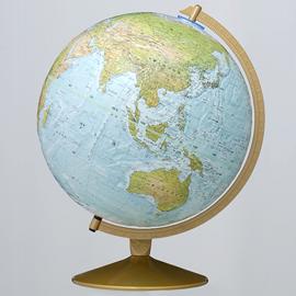 リプルーグル地球儀 マリナー型(地勢図)