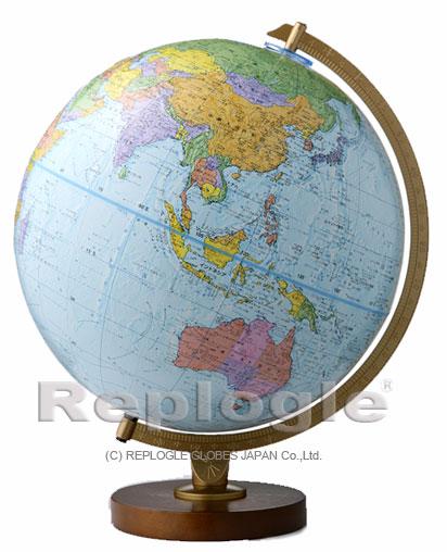 リプルーグル地球儀 エンデバー型(行政図)