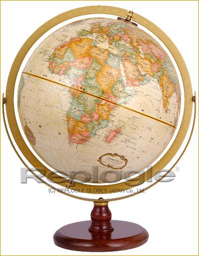 リプルーグル地球儀 ラ・グレンシ(行政図)