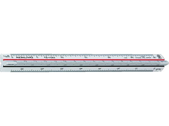 メール便限定 送料240円 1000円以上で送料無料 コクヨ 三角スケール オンラインショッピング 売れ筋 ABS樹脂 TZ-1562N 目盛り15cm ポケット用