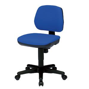 【送料無料】【サンワサプライ】OAチェア(ブルー)SNC-T145BL モールドウレタンで型崩れしにい低ホルムアルデヒドオフィスチェア、ブルー、オフィスチェア【TD】【パソコン周辺機器/PC/】【イス/椅子/オフィス/家庭/OAチェア/キャスター】【代引き不可】