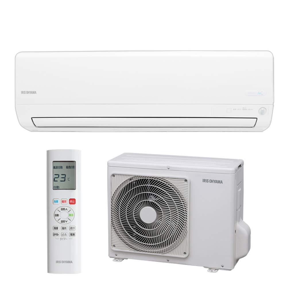 エアコン 10畳 AIスピーカー連動 ルームエアコン 2.8kW リモコン IRW-2819A エアコン 暖房 冷房 暖かい 涼しい 夏 冬 快適 クーラー リビング ダイニング 子ども部屋 空調 空気 気温 温度 アイリスオーヤマ