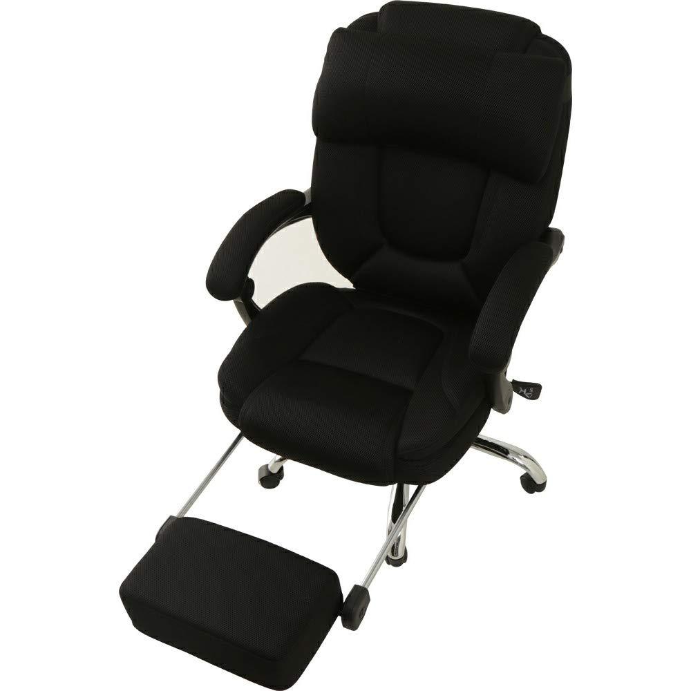 170°リクライニング オフィスチェア送料無料 椅子 イス デスクチェア パソコンチェア フットレスト オットマン付 デスクチェア リクライニングチェア いす ハイバック オフィス 書斎 メッシュ 組立品 キャスター ゲーミングチェア