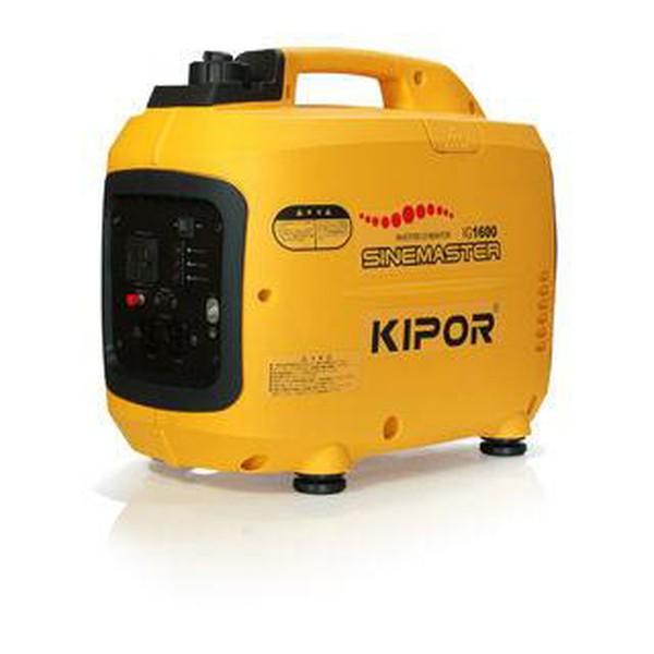 【送料無料】Kipor インバータ発電機 IG1600 1.6KVAインバータ発電機 インバーター 発電機 防災グッズ 発電 アウトドア【D】【DA】