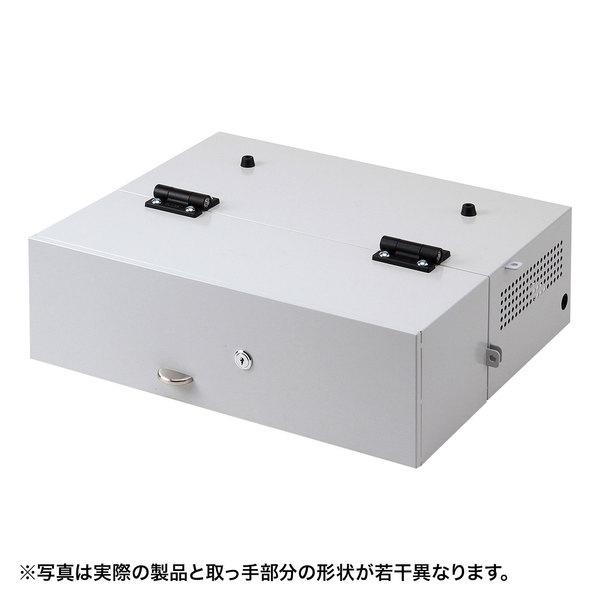 ノートパソコンセキュリティ収納BOX SL-70BOX【サンワサプライ】【TD】【代引不可】