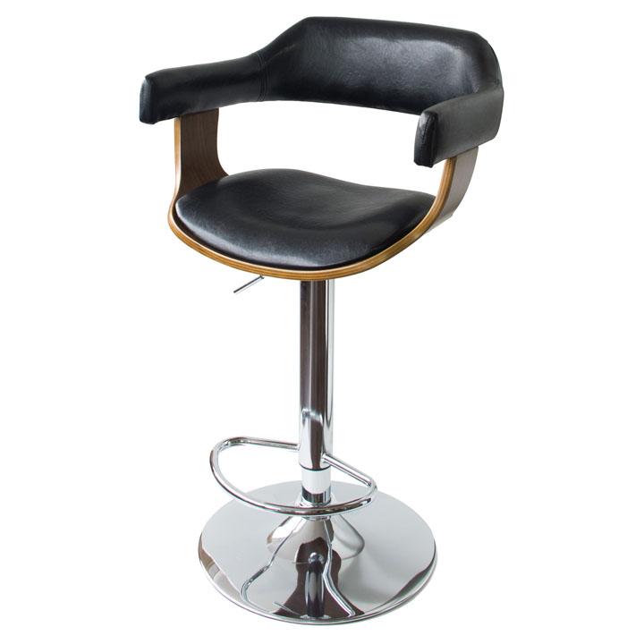 【送料無料】【カウンター チェア】バーチェア【レザー 椅子 イス シック 高さ調整】 KNC-J1080【TD】【MT】【代引不可】【B】