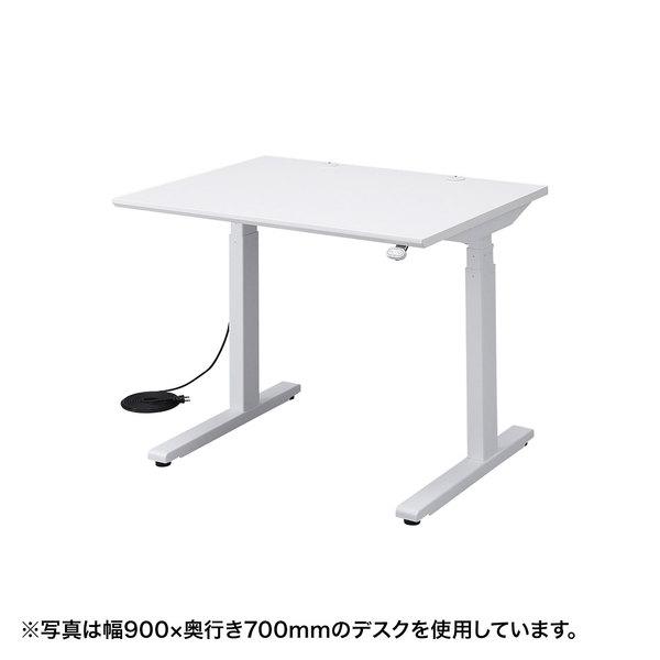 電動上下昇降デスク(W900×D800×H630~1280mm) ERD-M9080送料無料 デスク パソコン オフィス 高さ調節 机 電動 サンワサプライ 【代引き不可】 【TD】