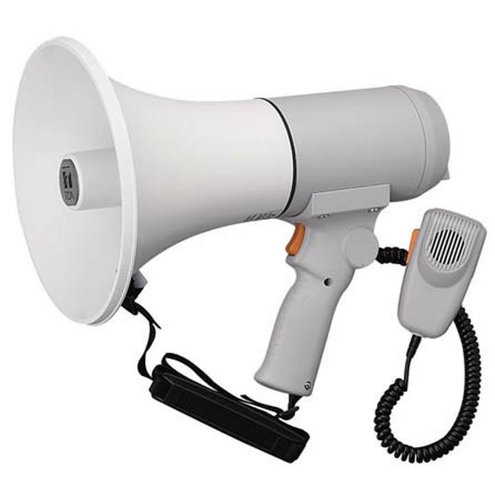 ハンドル付ショルダーメガホン 15W ライトグレー ER-3115送料無料 メガホン 拡声器 ショルダー ハンドマイク メガホンショルダー メガホンハンドマイク 拡声器ショルダー ショルダーメガホン ハンドマイクメガホン ショルダー拡声器 TOA 【TC】