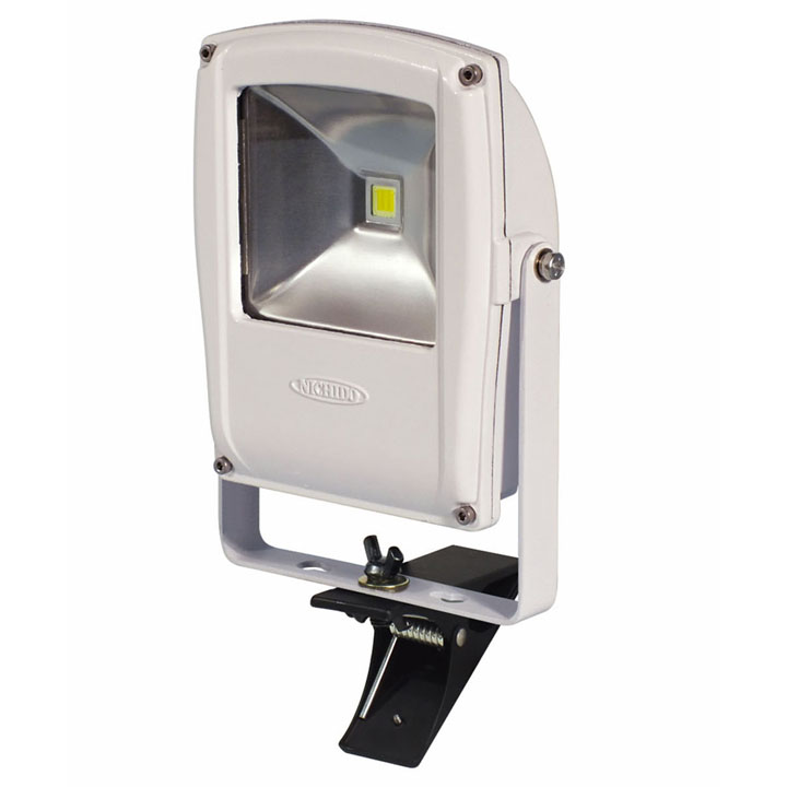 フラットライト10W クリップタイプ 本体白 LEN-F10C-W送料無料 投光器 作業灯 クリップ LED 投光器クリップ 投光器LED 作業灯クリップ クリップ投光器 LED投光器 クリップ作業灯 日動工業 【D】