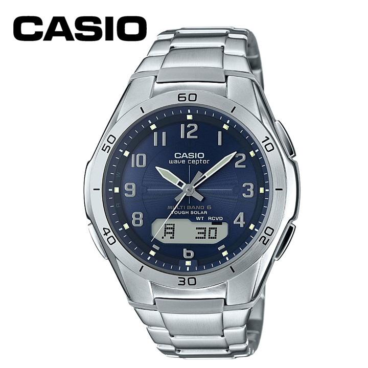 電波腕時計 WVA-M640D-2A2JF送料無料 腕時計 電波時計 防水 アナログ カシオ 【D】