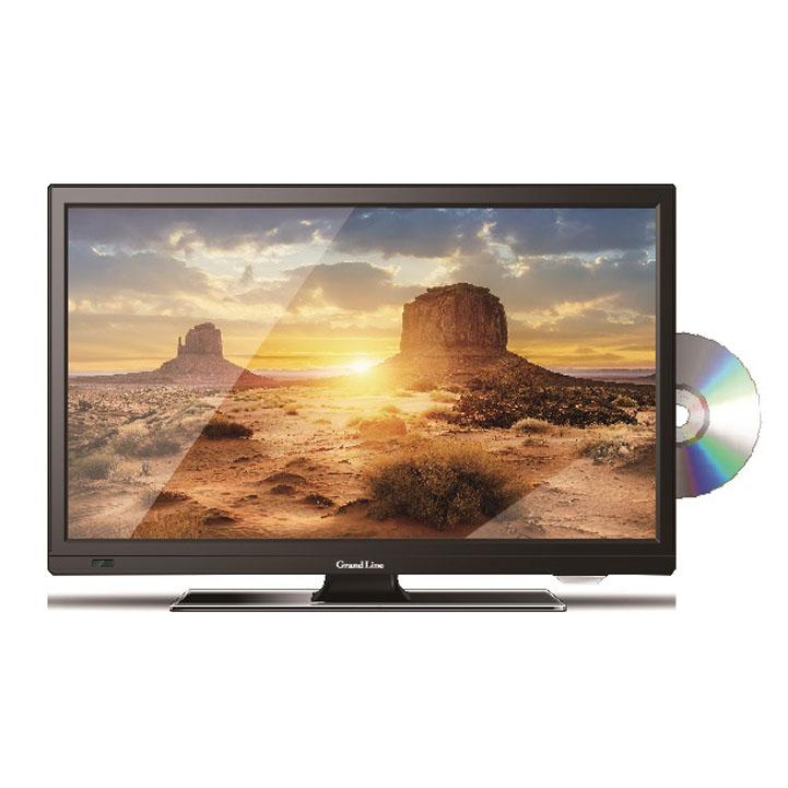 Grand-Line 19V型 DVD内蔵 地上デジタルハイビジョン液晶テレビ GL-19L01DV送料無料 TV DVDプレーヤー 19V型 寝室 エスキュービズム 【D】