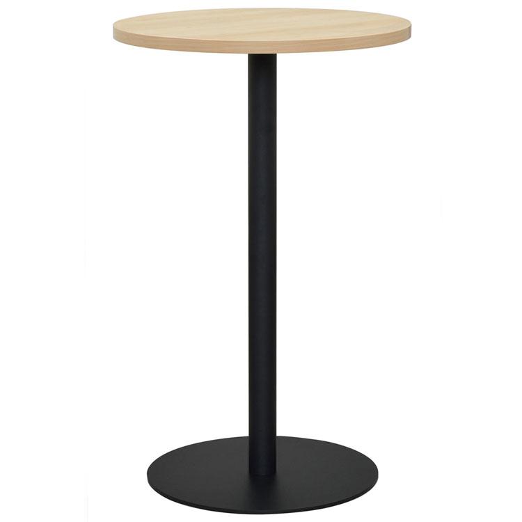 リフレッシュハイテーブル4 直径600 ナチュラル RFRT-HTV4送料無料 高さ96cm 幅60 ラウンド型 汚れに強い キズに強い 記入台 会社 ミーティング カフェ アール・エフ・ヤマカワ 【TD】 【代引不可】