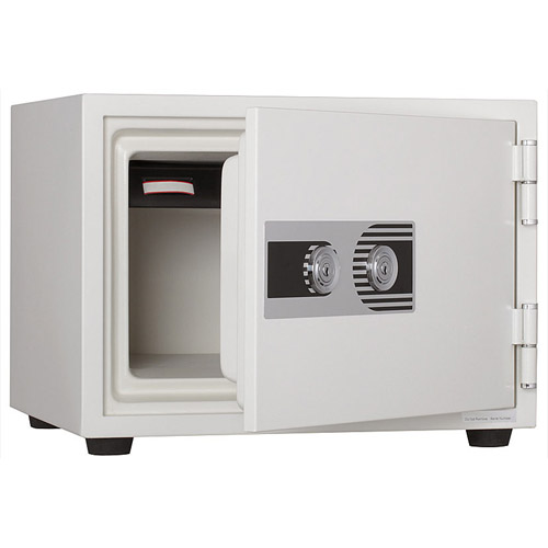 井上金庫 耐火金庫 2キータイプ PHDI-50W【送料無料】《メーカー直送 代引き 時間指定不可》