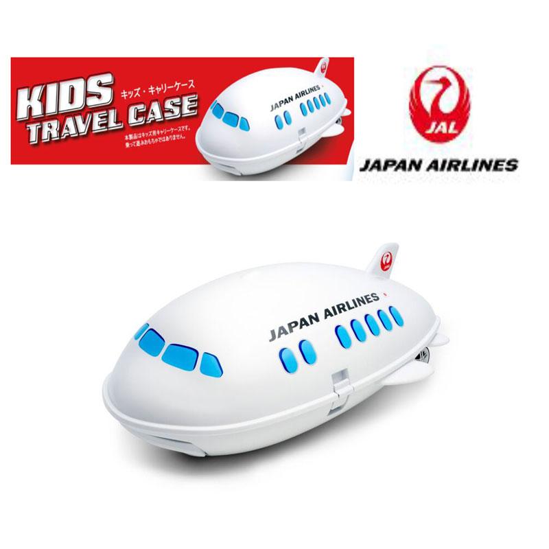 JALの正規ライセンスロゴ入り 飛行機と一緒に出掛けよう☆ Ridaz キッズ・キャリー JAL飛行機モデル