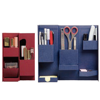 "Small objects of various sizes ""person boxes"" to organize multi + simple paper box storage nakabayashi LIFESTYLE TOOL-box M"