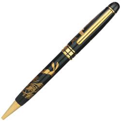 六百年の伝統を誇る輪島塗の蒔絵を施した最高級工芸品 堅牢で優美な筆記具 輪島塗 蒔絵 雅風