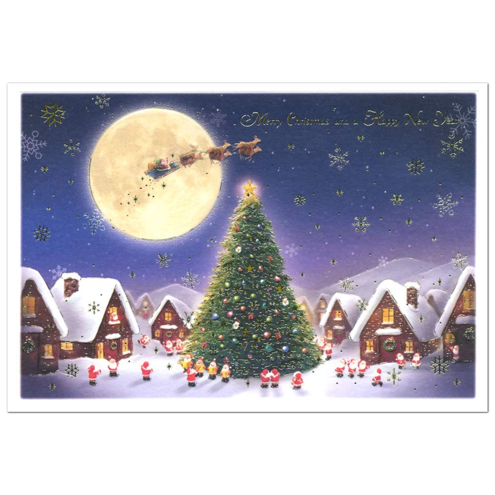 Merry Christmas New Lovely Beautiful Christmas Card Greeting Life S 408