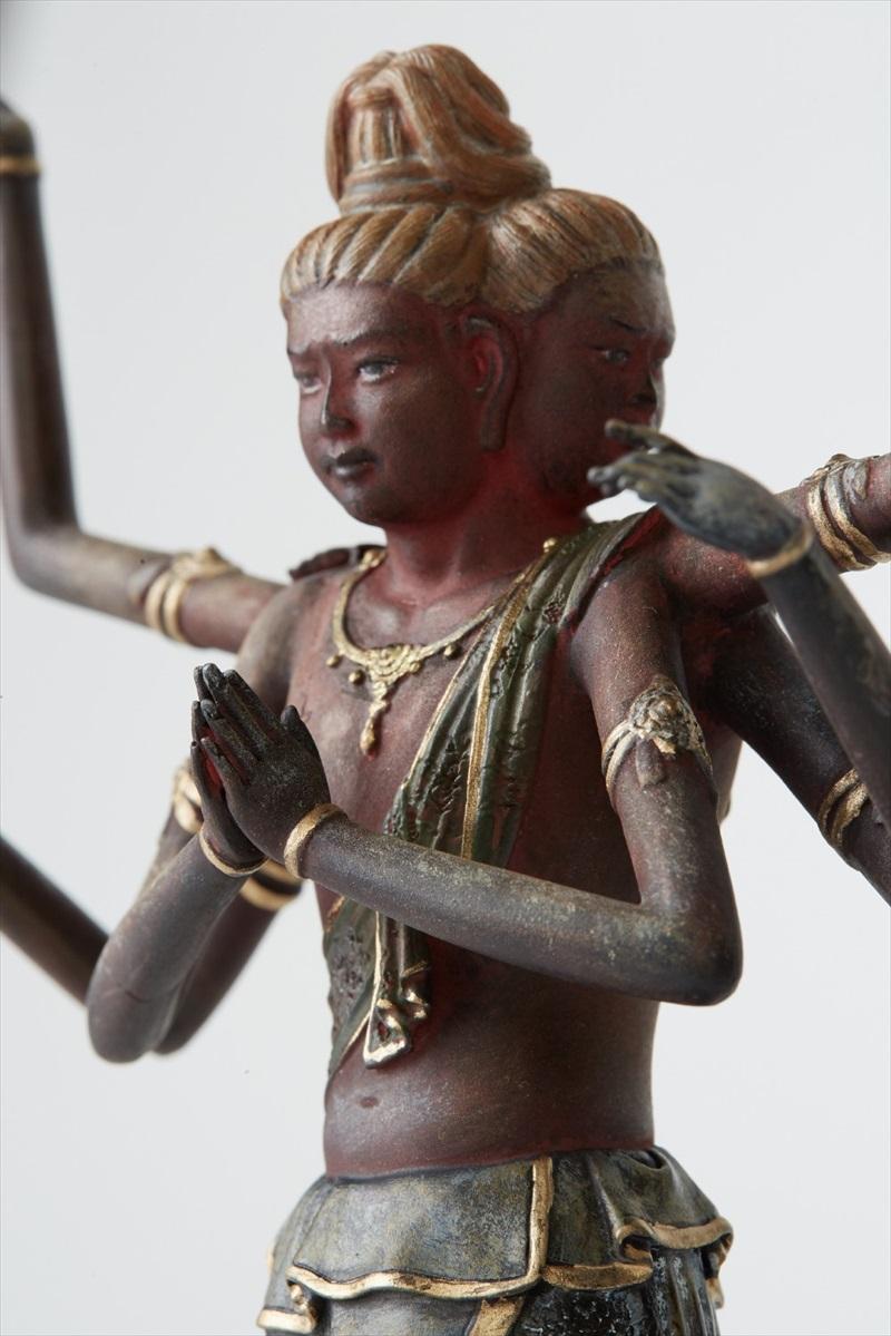 約20cmの掌サイズの姿の中に日本の匠の技を凝縮! 身近における仏像シリーズ イSム TanaCOCORO『掌』 阿修羅
