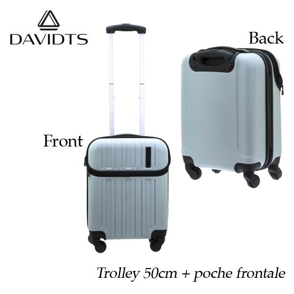 スーツケース おしゃれ 30l ホワイト キャリーケース キャリーバッグ ビジネス 出張 旅行 ハードスーツケース キャビンケース メンズ レディース 人気 疲れにくい 海外ブランド製品 ブランド DAVIDTS 送料無料 【メール便不可】
