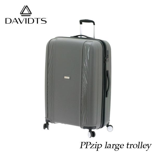 スーツケース おしゃれ かわいい lサイズ 95l グレー キャリーケース キャリーバッグ ビジネス 出張 旅行 ハードスーツケース キャビンケース メンズ レディース 人気 疲れにくい 海外ブランド製品 ブランド DAVIDTS 送料無料 【メール便不可】