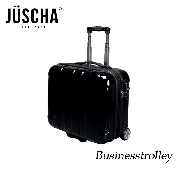 スーツケース おしゃれ かわいい 40l ブラック キャリーケース キャリーバッグ ビジネス 出張 旅行 ハードスーツケース キャビンケース メンズ レディース 人気 疲れにくい 海外ブランド製品 ブランド JUSCHA 送料無料 【メール便不可】