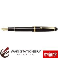 パイロット 万年筆 カスタム742 ブラック ソフト調中細字 (SFM) FKK-2000R-B-SFM