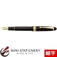 パイロット 万年筆 カスタム743 ブラック ソフト調細字 (SF) FKK-3000R-B-SF