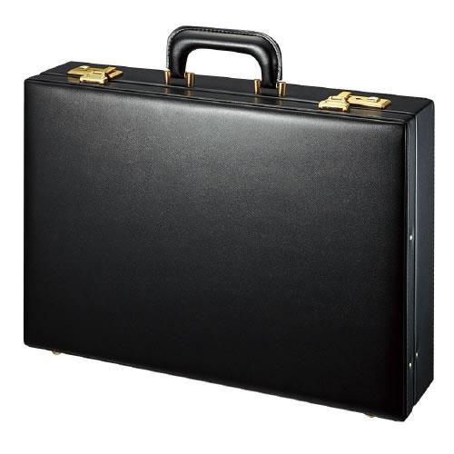 コクヨ ビジネスバッグ アタッシュケース B4 黒 W450×D100×H320 カハ-B4B3D