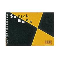 マルマン/スケッチブック マルマン スケッチブック 図案印刷シリーズ 並口(中性紙) B6 (122×174mm) 24枚 S160 / 10冊