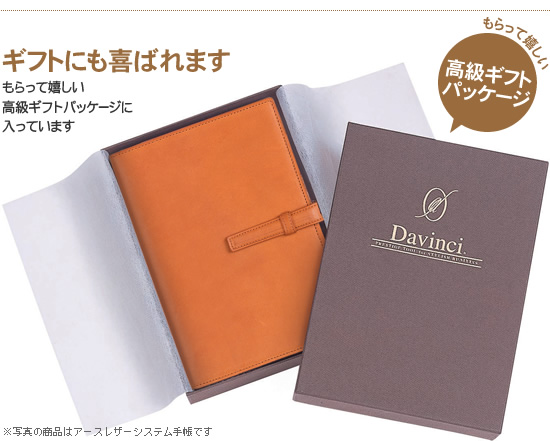DaVinci Davinci Grande oil leather just refill size-Pocket Planner