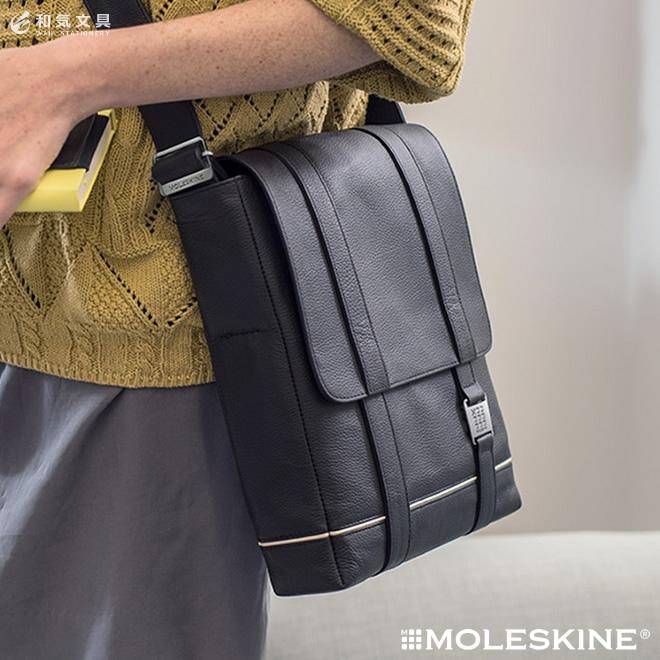 Moleskine Lineage Reporter Bag Leather