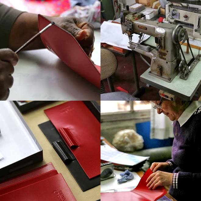 쿠오바디스 QUOVADIS 16×16 커버 가죽(스프릿트 레더) 커버 DUO 듀오 화기 문구 오리지날 칼라(커버만)