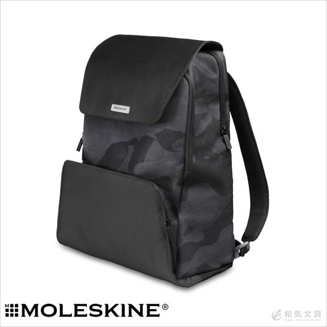 モレスキン バッグ バックパック カバン / モレスキン MOLESKINE ノマド バックパック カモブラック リュック