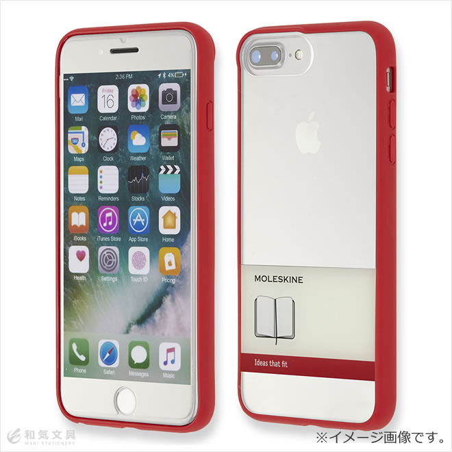 free shipping 9e69e ecb80 It leaks, and skin MOLESKINE iPhone case elastic band design clear hardware  case iPhone 6 Plus/6s Plus/7 Plus/8 Plus is for exclusive use