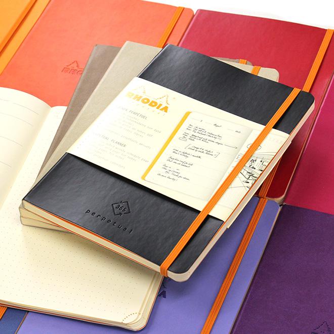 バレットジャーナル 名入れ メーカー公式ショップ 無料 ロディア RHODIA ラマ パーペチュアルノートブック メール便送料無料 贈答 A5