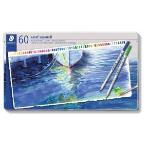 ステッドラー カラト アクェレル 水彩色鉛筆 (インク色:60色セット) 125M60