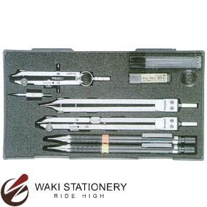 ドラパス 三幸製図 独式製図器セット 6本組14品 No.01-524