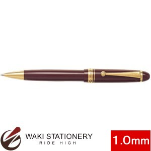 パイロット ボールペン 油性 カスタム74 太字1.0mm ディープレッド (インク色:黒) BKK-1000R-DR【ネーム入れ対象商品(有料)】