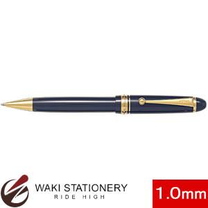 パイロット ボールペン 油性 カスタム74 太字1.0mm ダークブルー (インク色:黒) BKK-1000R-DL【ネーム入れ対象商品(有料)】