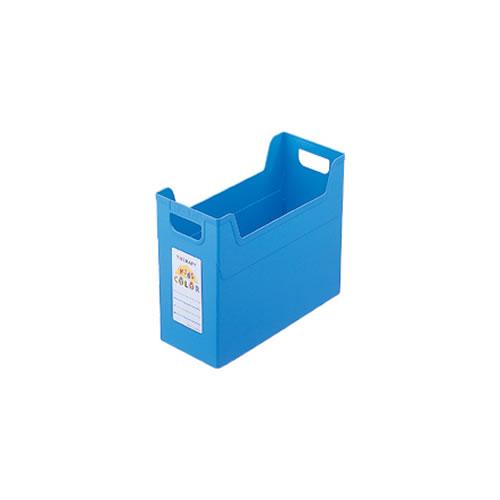 ナカバヤシ セラピーキッズカラー ファイルボックス A4 キッズブルー フボ-TC4-KB / 24セット