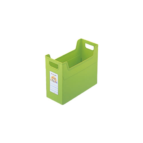 ナカバヤシ セラピーキッズカラー ファイルボックス A4 キッズグリーン フボ-TC4-KG / 24セット